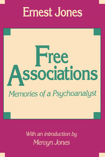 Free Associations Memories of a Psychoanalyst book cover