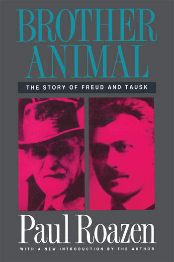 Brother Animal The Story of Freud and Tausk book cover