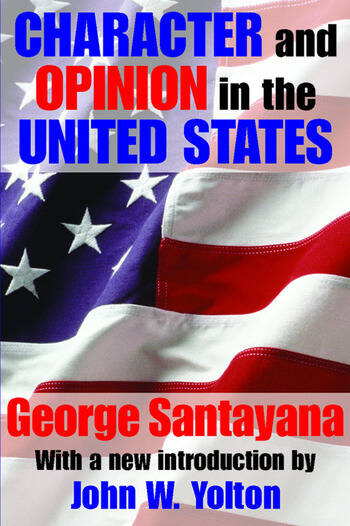 Character and Opinion in the United States book cover