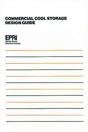 Commercial Cool Storage Design Guide book cover