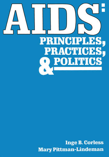 AIDS Principles, Practices, and Politics book cover