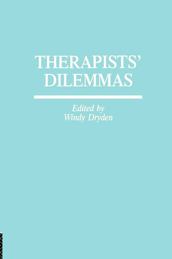 Therapists' Dilemmas book cover