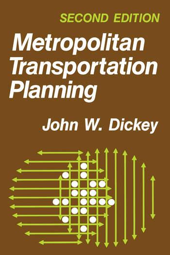Metropolitan Transportation Planning book cover