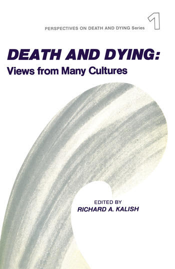 Death and Dying Views from Many Cultures book cover