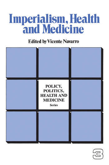 Imperialism, Health and Medicine book cover