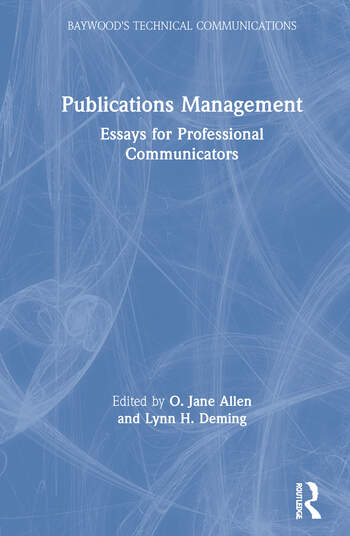 Publications Management Essays for Professional Communicators book cover