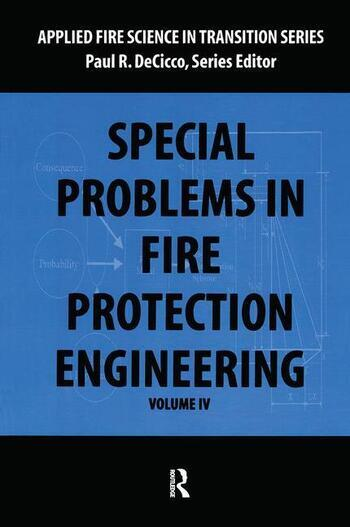 Special Problems in Fire Protection Engineering book cover