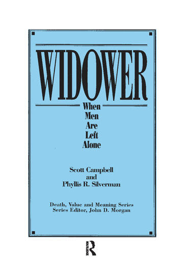 Widower When Men are Left Alone book cover