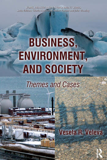Business, Environment, and Society Themes and Cases book cover
