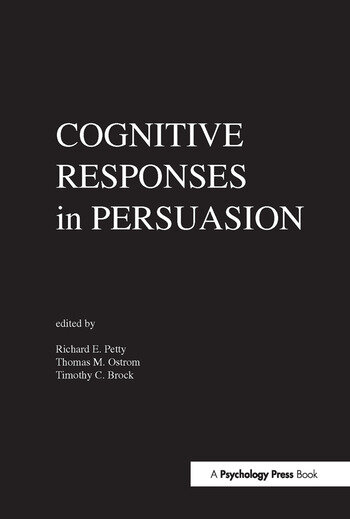 Cognitive Responses in Persuasion book cover
