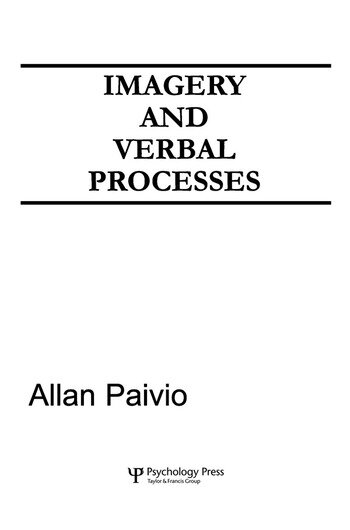 Imagery and Verbal Processes book cover