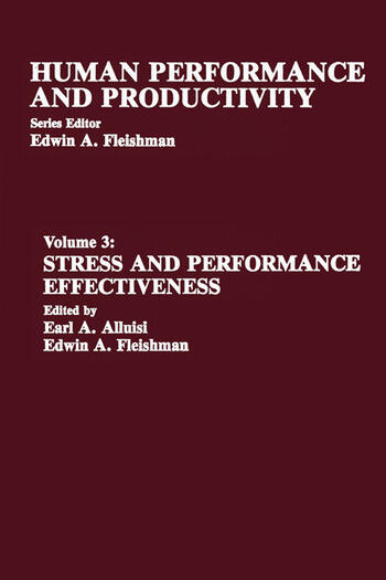 Stress and Performance Effectiveness Volume 3 book cover