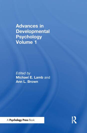 Advances in Developmental Psychology Volume 1 book cover
