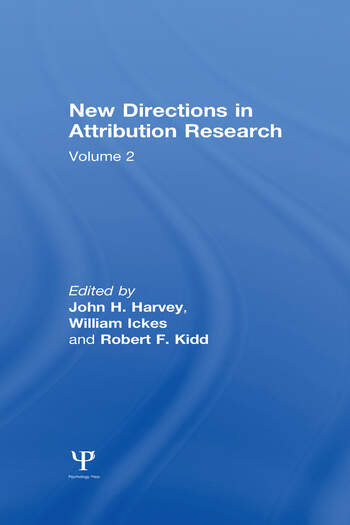 New Directions in Attribution Research Volume 1 book cover