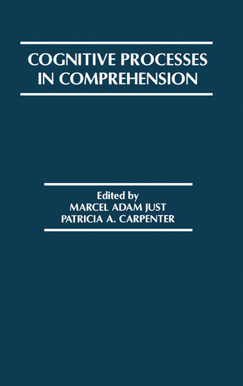 Cognitive Processes in Comprehension book cover