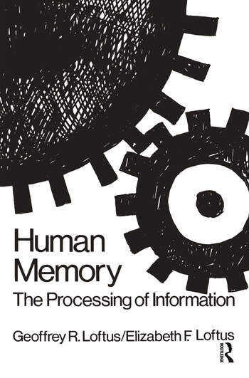 Human Memory The Processing of Information book cover