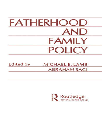 Fatherhood and Family Policy book cover