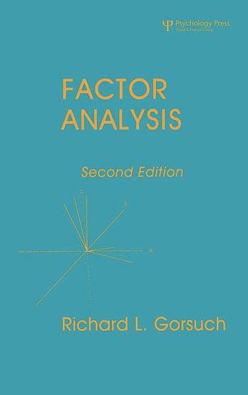 Factor Analysis book cover