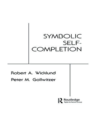 Symbolic Self Completion book cover