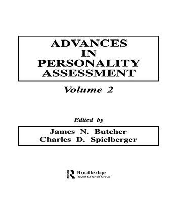 Advances in Personality Assessment Volume 2 book cover