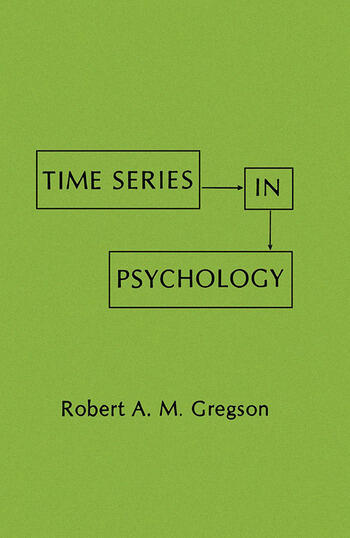 Time Series in Psychology book cover