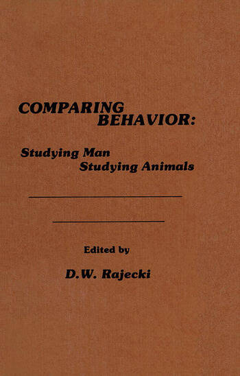 Comparing Behavior Studying Man Studying Animals book cover