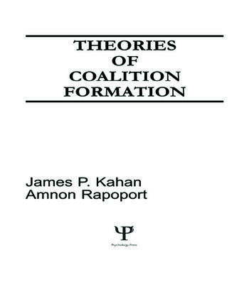 Theories of Coalition Formation book cover