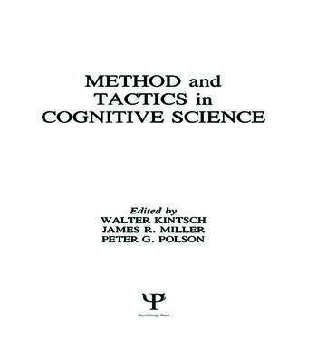 Methods and Tactics in Cognitive Science book cover