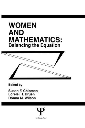 Women and Mathematics Balancing the Equation book cover