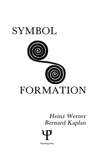 Symbol Formation book cover
