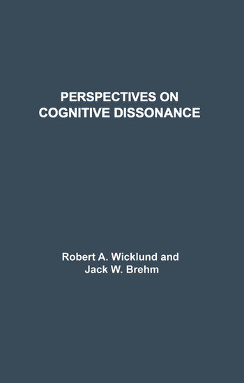 Perspectives on Cognitive Dissonance book cover