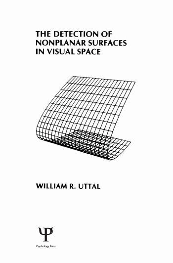 The Detection of Nonplanar Surfaces in Visual Space book cover