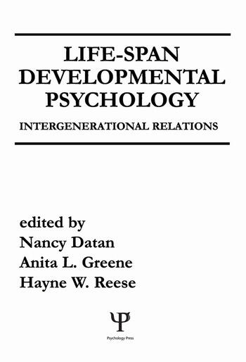 Life-span Developmental Psychology Intergenerational Relations book cover