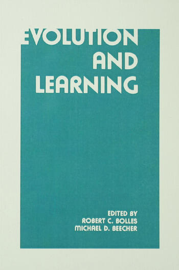 Evolution and Learning book cover
