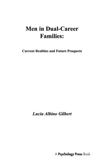 Men in Dual-career Families Current Realities and Future Prospects book cover