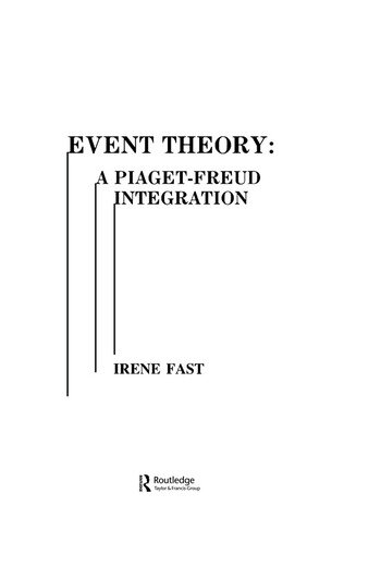 Event Theory A Piaget-freud Integration book cover