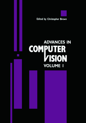 Advances in Computer Vision Volume 1 book cover