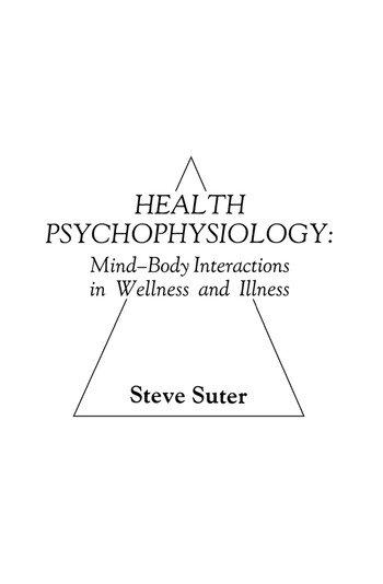 Health Psychophysiology book cover