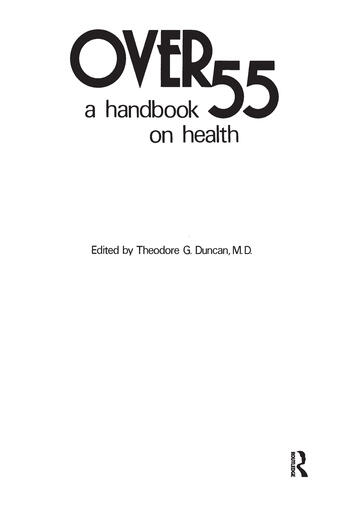 Over 55 A Handbook on Health book cover