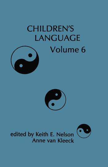 Children's Language Volume 6 book cover
