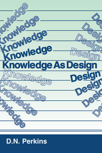 Knowledge As Design book cover