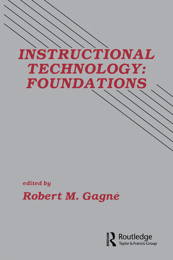 Instructional Technology Foundations book cover