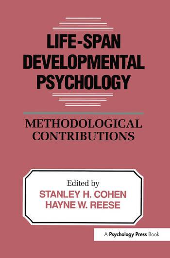 Life-Span Developmental Psychology Methodological Contributions book cover