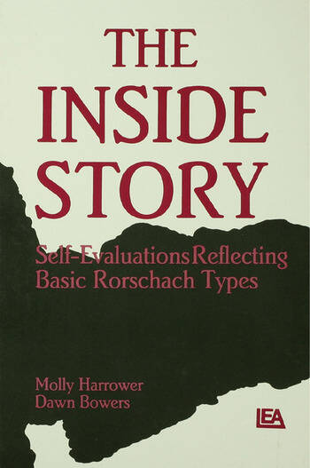The Inside Story Self-evaluations Reflecting Basic Rorschach Types book cover