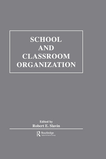 School and Classroom Organization book cover