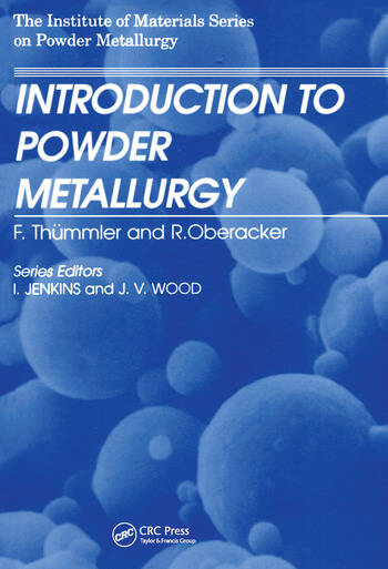 An Introduction to Powder Metallurgy book cover