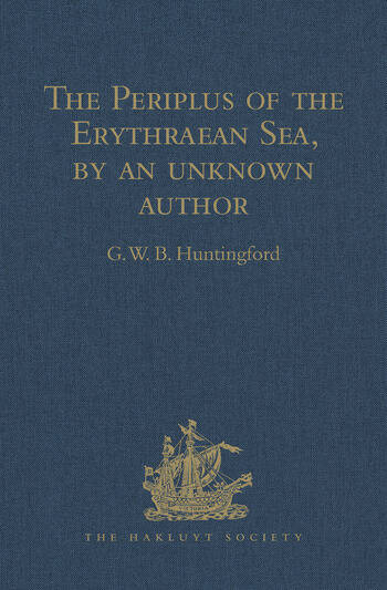 The Periplus of the Erythraean Sea, by an unknown author With some extracts from Agatharkhides 'On the Erythraean Sea' book cover