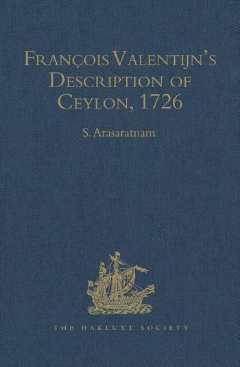 François Valentijn's Description of Ceylon (Oud en Nieuw Oost-Indien, 1726) book cover