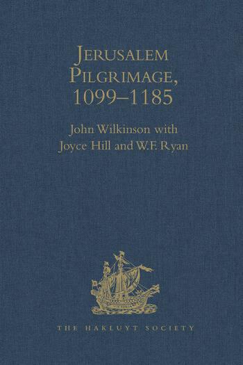 Jerusalem Pilgrimage, 1099–1185 book cover