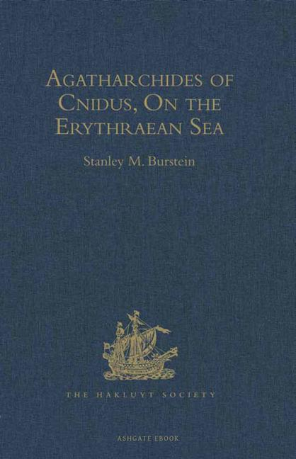 Agatharchides of Cnidus On the Erythraean Sea book cover